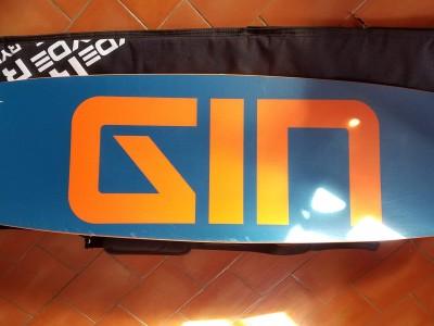 Gin Kites Geek-2 Twintip 2018 Complète 310€